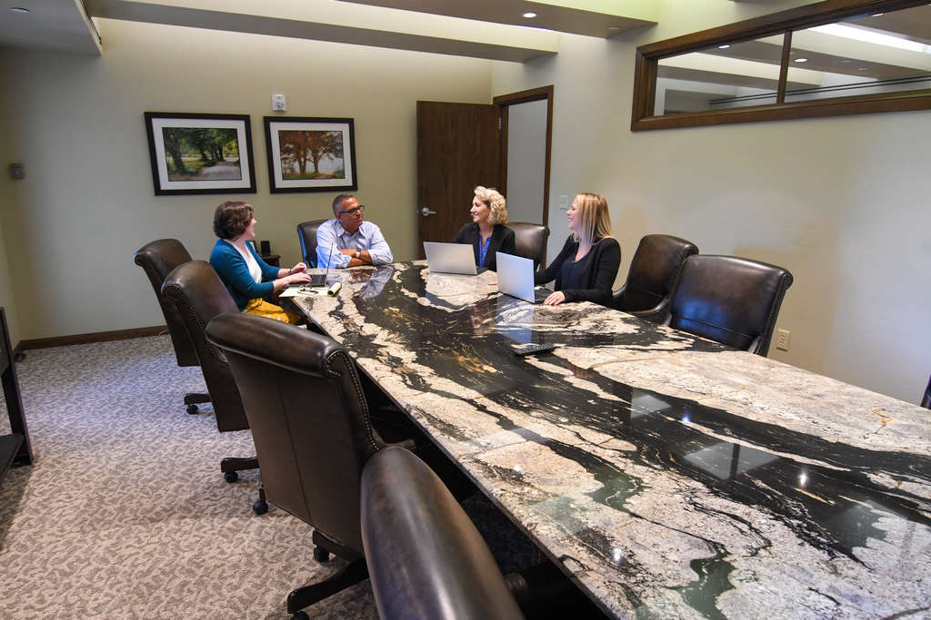 Wedel Rahill Team in conference room